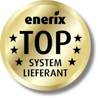 Bild: Siegel Top enerix System Lieferant