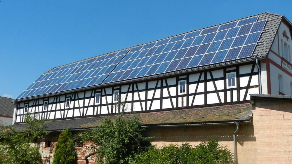 Photovoltaikanlage für Unternehmen Pension