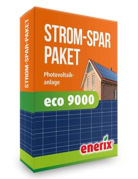 Photovoltaikanlage Komplettanlage eco 9000