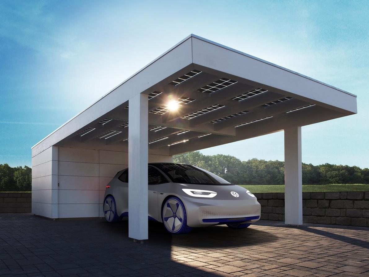 Solarcarport Leimholz