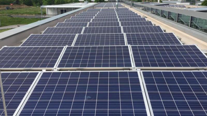 Photovoltaikanlage für Gewerbebetriebe