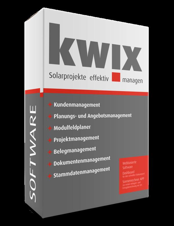 KWIX Software für Photovoltaikbetriebe
