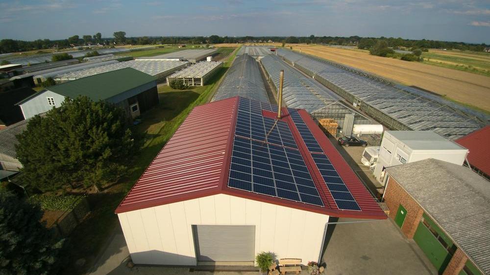 Photovoltaikanlage für Unternehmen Landwirtschaft
