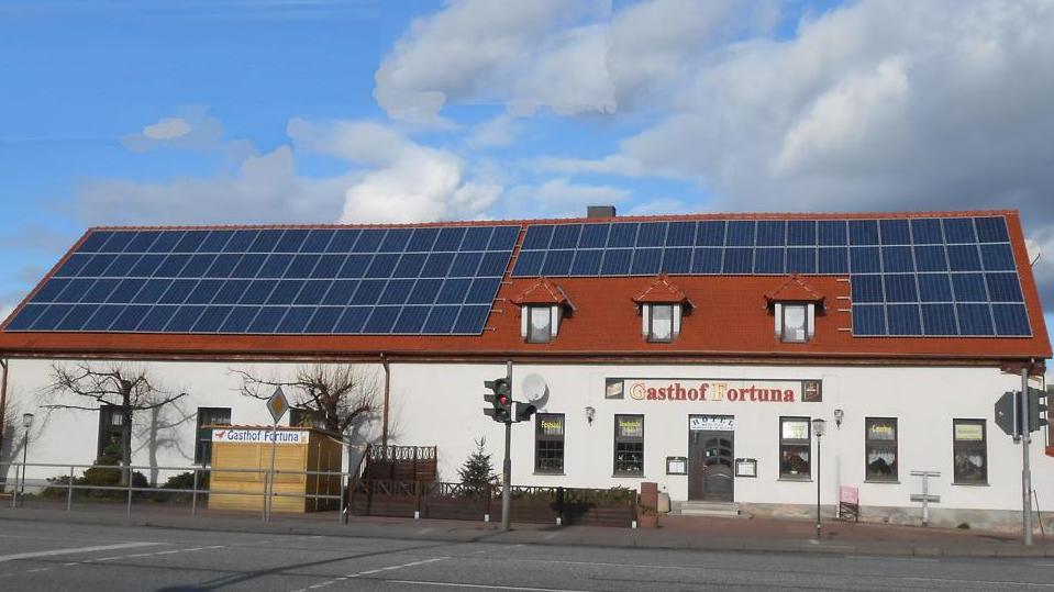 Photovoltaikanlage für Unternehmen Lebensmittel