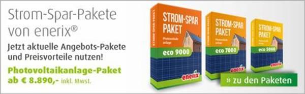 Photovoltaik-Komplettpakete