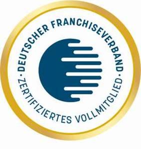 Siegel Mitgliedschaft beim Deutschen Franchiseverband