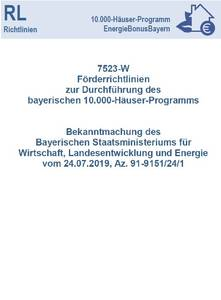 Förderrichtlinie Stromspeicher Förderung Bayern