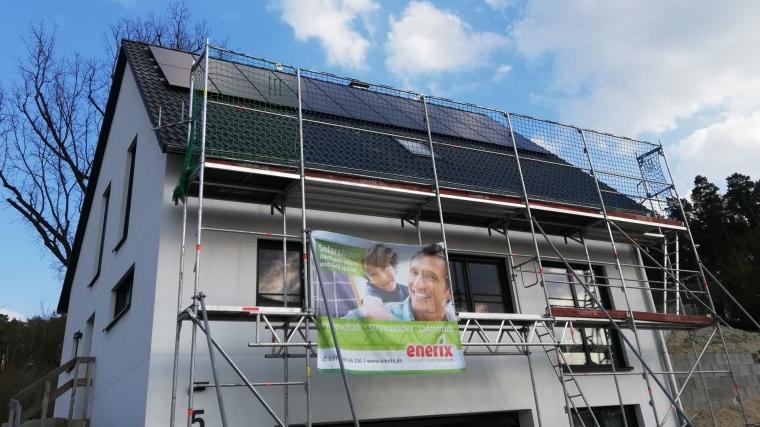 Photovoltaik Spalt