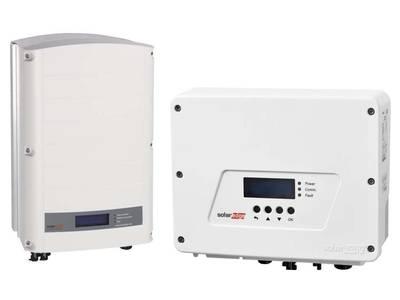 Bild von 2 Solaredge - Wechselrichter
