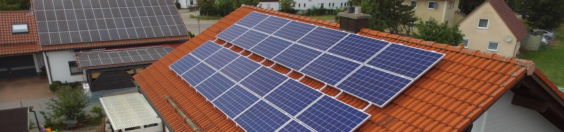 Photovoltaik Luftbild