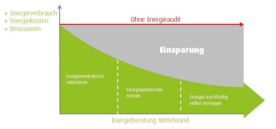 Energieberatung Mittelstand Einsparungspotenzial
