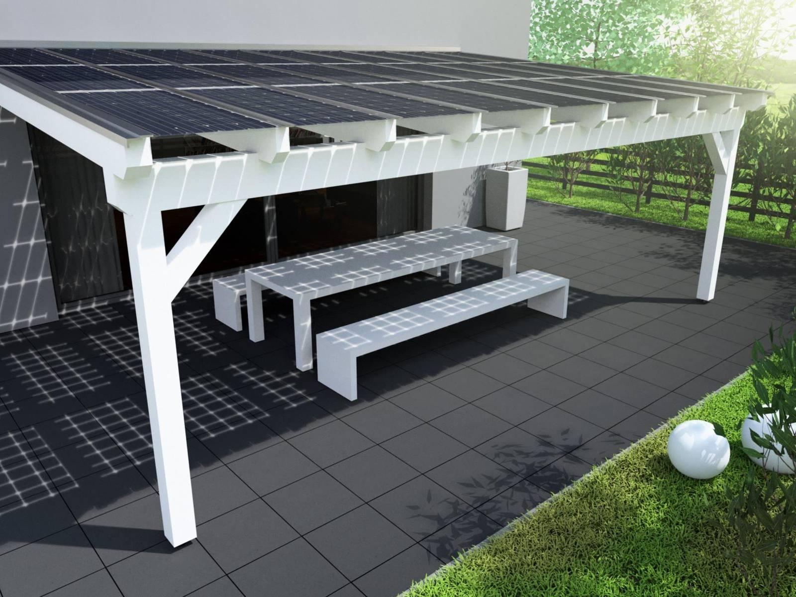 Solarterrasse Holz