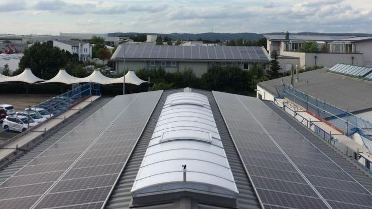 Photovoltaikanlage Autohaus Schrödl