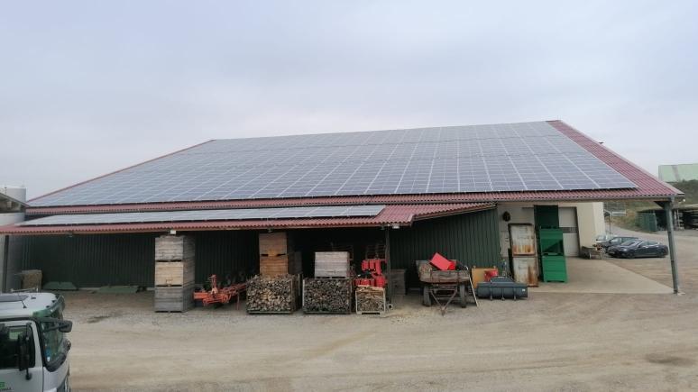 Photovoltaik auf Betrieb