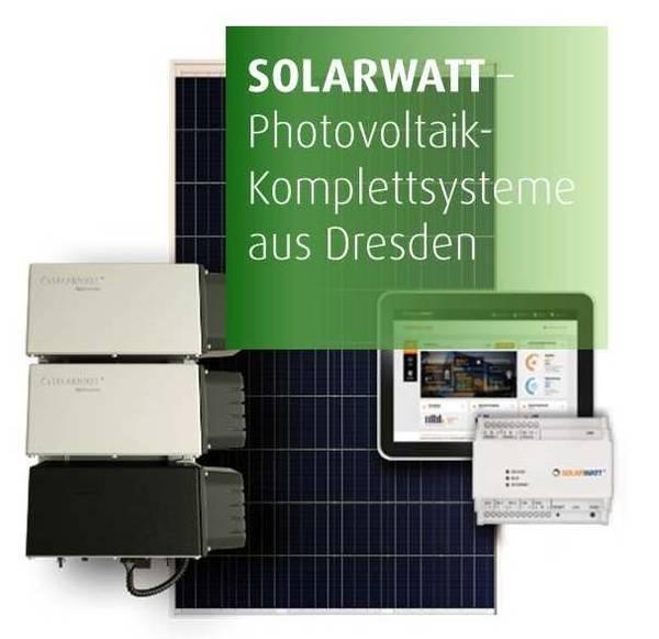 Solarwatt PV Komplettanbieter