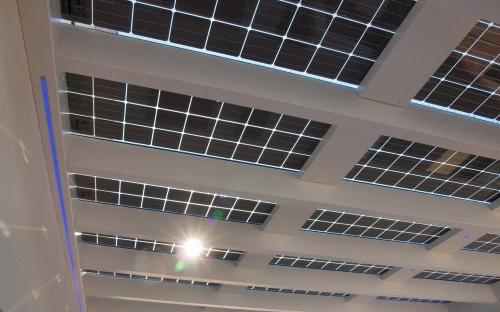 Solarterrassedach