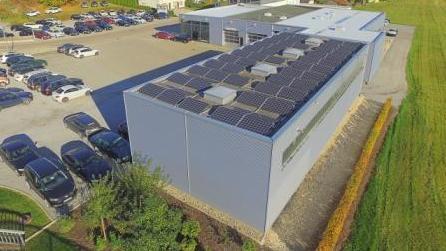 Photovoltaik Wangen Gewerbe