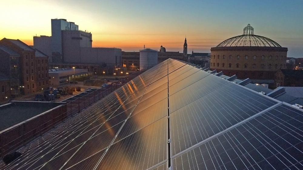 Photovoltaikanlage für Unternehmen Stadtwerke Leipzig
