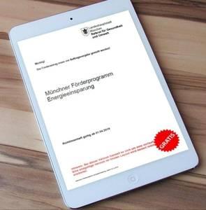 Münchner Förderprgramm Energieeinsparung und Photovoltaik