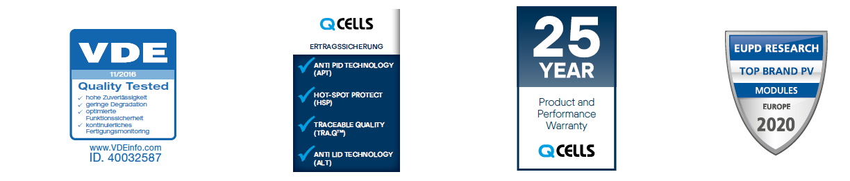 Q-Cells Qualität