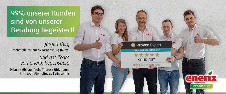 Kundenbewertungen enerix Regensburg