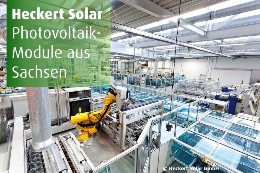 Hecker-Solar Modulproduktion in Sachsen