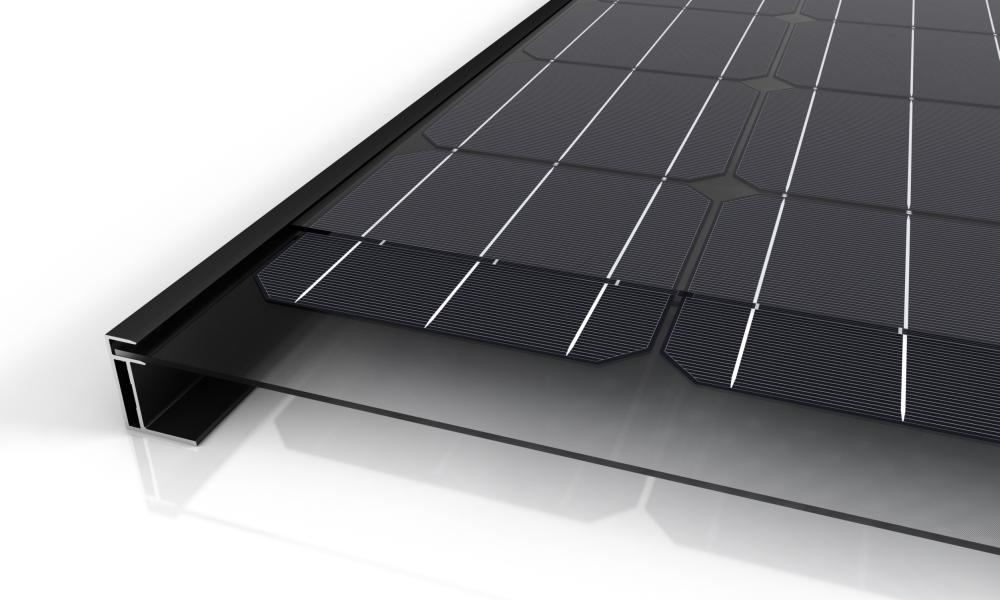 Solarwatt Modul-Querschnitt