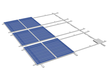 pv montagesystem flat direct