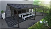 Solarterrasse Aluminium