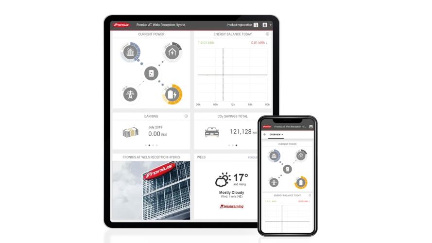 Fronius Wechselrichter App