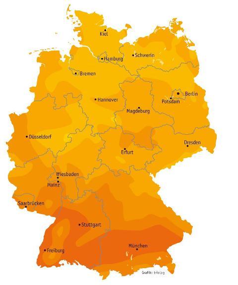 Photovoltaikanlagen lohnen sich in ganz Deutschland