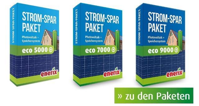 Komplettanlagen Photovoltaik + Stromspeicher