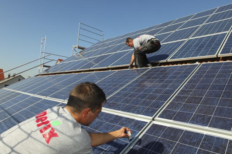 Photovoltaikanlagen Montage