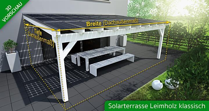 Solarterrasse Preise