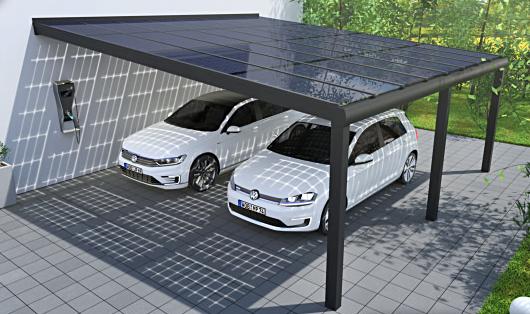 solarcarport aluminium